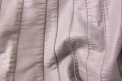 tekstury skórzana kurtka z szwami Obraz Royalty Free