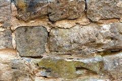 tekstury stary kamieniarstwo z cementem zdjęcie royalty free