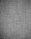 Tekstury szary brezentowy tło i subtelna winieta Obraz Royalty Free