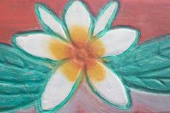 Tekstury sztuki tła cementu kwiatu ceglany tapetowy wzór zdjęcia royalty free