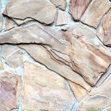 Tekstury tła kamieniarstwa kamień Fotografia Stock
