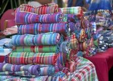 Tekstury tła odzieżowy loin Fotografia Stock