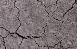 Tekstury tło ziemi ziemia w suchym regionie Obrazy Royalty Free