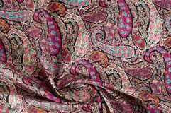 Tekstury tła wzór Paisley rocznika kwiecisty motyw etniczny Zdjęcia Royalty Free
