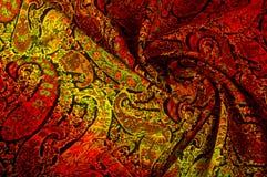 Tekstury tła wzór Paisley rocznika kwiecisty motyw etniczny Obraz Royalty Free