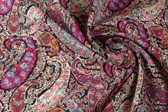 Tekstury tła wzór Paisley rocznika kwiecisty motyw etniczny Zdjęcie Royalty Free