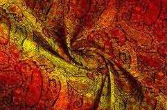 Tekstury tła wzór Paisley rocznika kwiecisty motyw etniczny Zdjęcie Stock