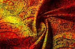 Tekstury tła wzór Paisley rocznika kwiecisty motyw etniczny Fotografia Royalty Free