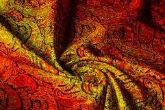 Tekstury tła wzór Paisley rocznika kwiecisty motyw etniczny Obraz Stock