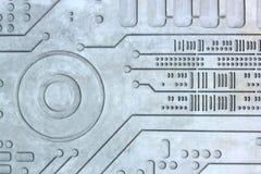 Tekstury techniki nauki beton cementujący ścienny tło Obraz Stock