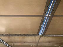 Tekstury tkaniny rozciągliwości dach robić beżowa tkanina, brezent z rozchyleniami threaded verdure pozyskiwania środowisk gentil Obraz Stock