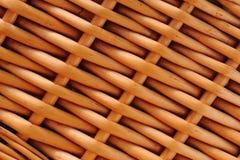 tekstury wicker Zdjęcia Stock