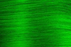 Tekstury zieleń wiele cienkie nici układał horizontally tło zdjęcia stock