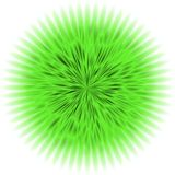 Tekstury zieleni kwiat ilustracja wektor