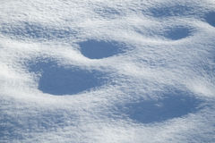 Tekstury zimy bielu śnieg Zdjęcie Royalty Free