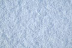 Tekstury zimy bielu śnieg Obrazy Royalty Free
