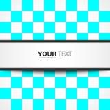Tekstvakje ontwerp royalty-vrije illustratie
