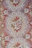 Tekstylna kwiecista deseniowa tapeta Zdjęcie Royalty Free