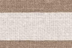 Tekstylna pościel, tkaniny wnętrze, żółta kanwa, bawełniany materiał, pusty tło Zdjęcia Royalty Free