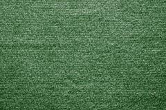 Tekstylna tekstura czuł tkaninę zielony kolor Obrazy Royalty Free