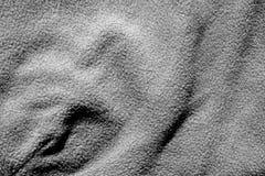 Tekstylna tekstura w czarny i biały Obraz Stock