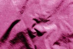 Tekstylna tekstura w menchia kolorze Zdjęcie Stock