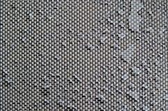 Tekstylna tekstura z wodnymi kroplami zdjęcia stock
