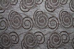 Tekstylnej tkaniny tekstura Anemon 08 pancerników szarość barwi Fotografia Stock