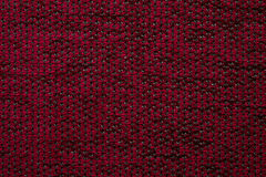 Tekstylnej tkaniny tekstury Anemonu Kombin 06 zmrok - czerwony kolor Obraz Stock