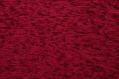 Tekstylnej tkaniny tekstury Kombin 06 Ryży czerwony kolor Fotografia Stock