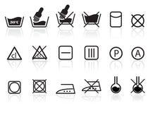 tekstylni pralniani opieka symbole