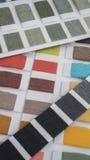 tekstylny koloru swatch Obrazy Royalty Free