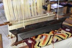 Tekstylny manufactory Luang Prabang Laos Obraz Royalty Free
