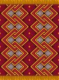 Tekstylny moda afrykanina Ankara druk ilustracja wektor