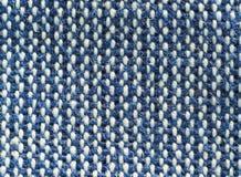 Tekstylny tło - tkanina dwa koloru Zdjęcia Royalty Free