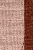 Tekstylny tablecloth, tkanin pojęcia, kawowa kanwa, włókno materiał, projekta tło Obraz Stock