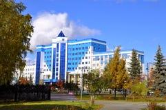 Tekutyevsky Boulevard. View of a modern office building. Tyumen, Stock Photography
