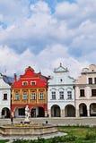 Telč in Czech Republic royalty free stock photo