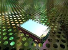 Teléfono 3d Imágenes de archivo libres de regalías