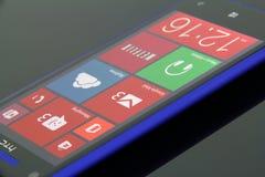 Teléfono 8 de Windows Imagenes de archivo