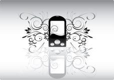 Teléfono abstracto stock de ilustración