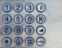 Teléfono ambos de la calle cojín de marca Imagenes de archivo