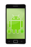 Teléfono androide Imagen de archivo