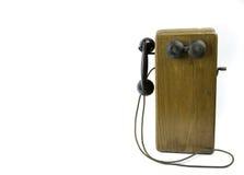 Teléfono antiguo Fotografía de archivo