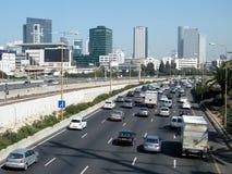Teléfono Aviv Ayalon Highway 2010 Fotos de archivo