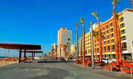 Teléfono Aviv Promenade, Israel Foto de archivo libre de regalías