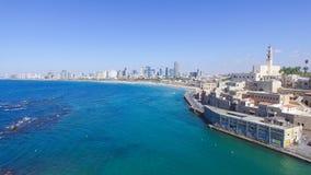 Teléfono Aviv Skyline fotos de archivo