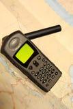Teléfono basado en los satélites imágenes de archivo libres de regalías