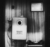 Teléfono bueno viejo Foto de archivo libre de regalías