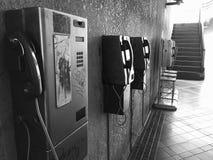 Teléfono BW Fotografía de archivo libre de regalías